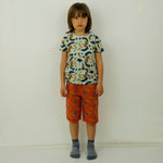 Toucan Banana All Over Print Unisex Bermuda