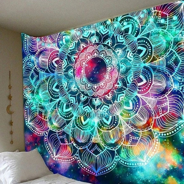 Illusory Art Tapestry