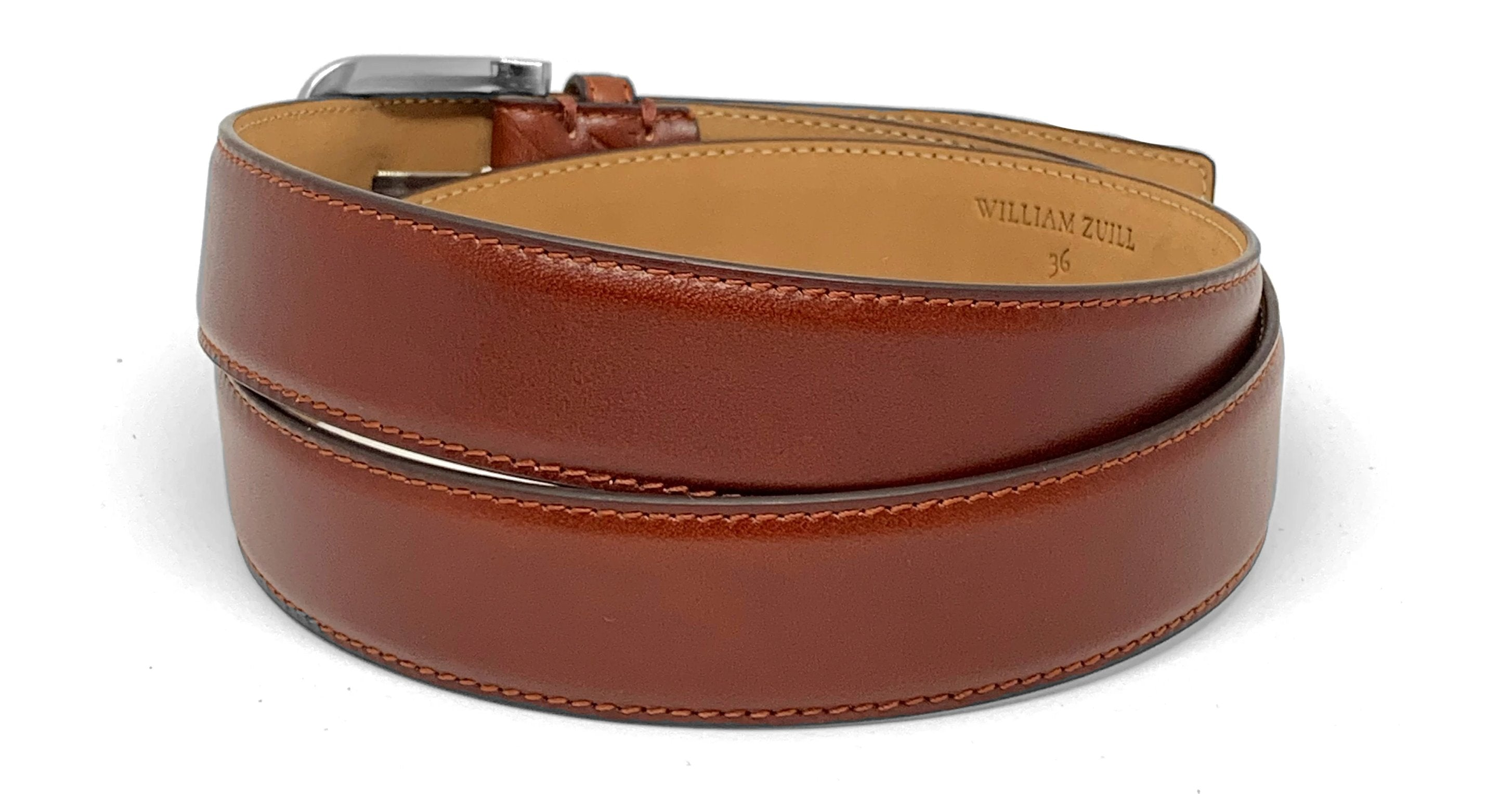 Men's belts - William Zuill - Leather belts - pattern belts - unique belts