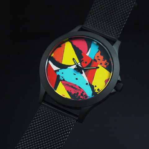 Montre du Graffeur Prisme - 36mm - 24 exemplaires  - made in normandie