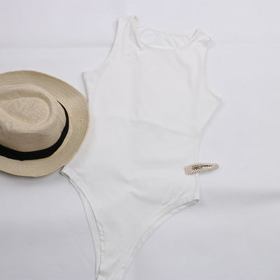 Sleeveless Basic Bodysuit