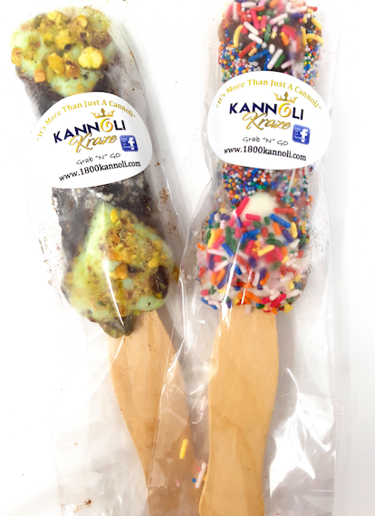 Large Frozen Cannoli Pops