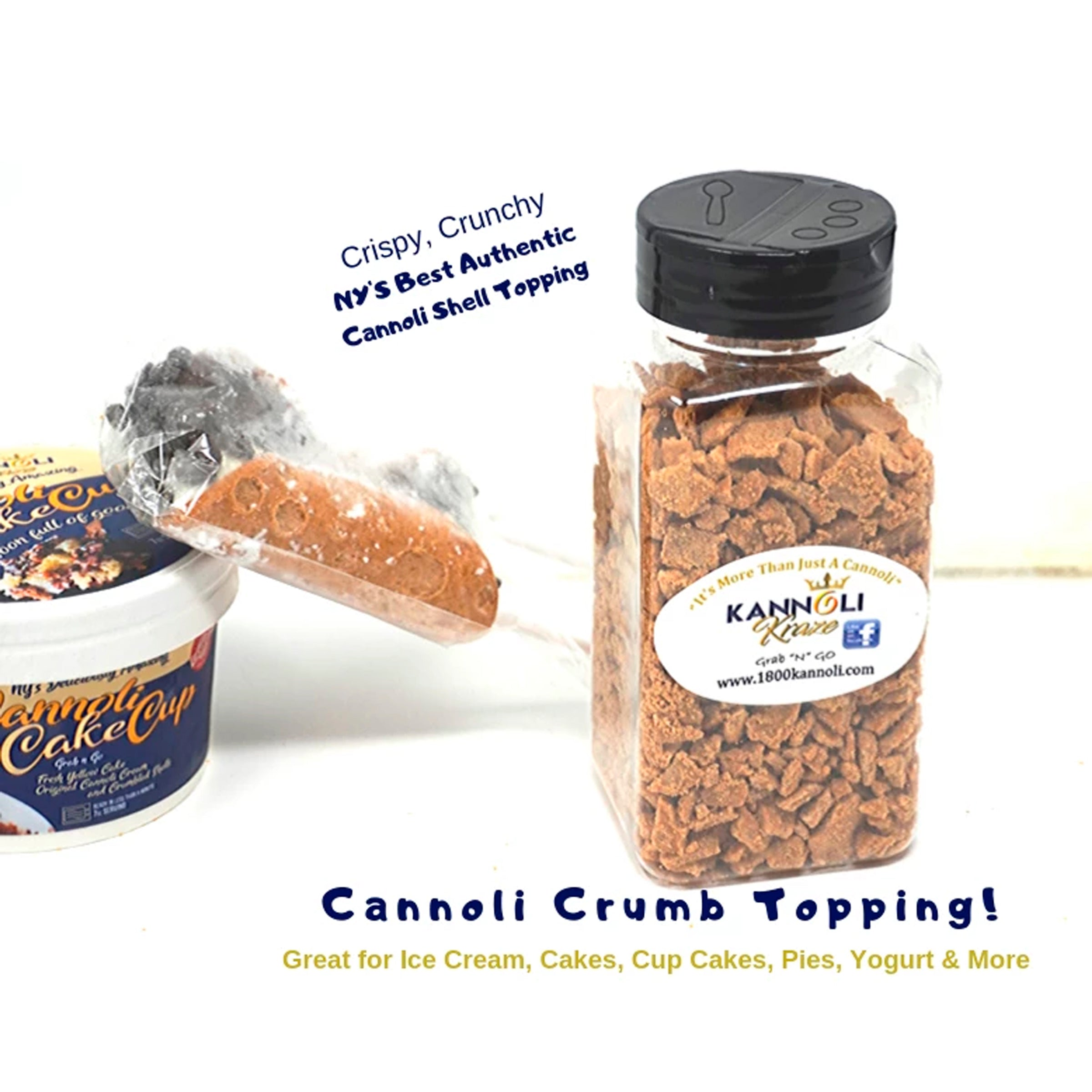 Cannoli Shell Crumbs Topping