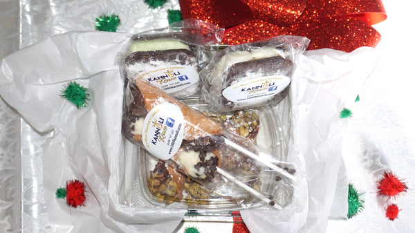 Cannoli Lovers Gift Sampler (Free Shipping)