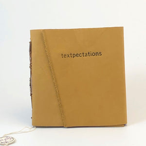 "Mini Magnetic Notebook ""textpectations"""
