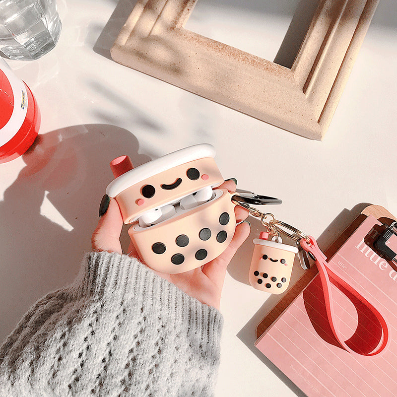 Cute Boba Tea AirPods Pro Case