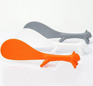 Squirell Shaped Rice Scoop