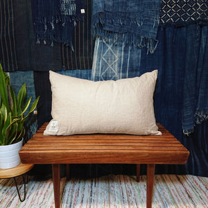 Mudcloth Lumbar Cushion Cover