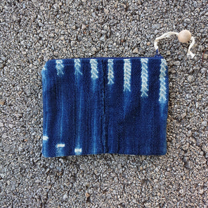Medium Zip Pouch - indigo