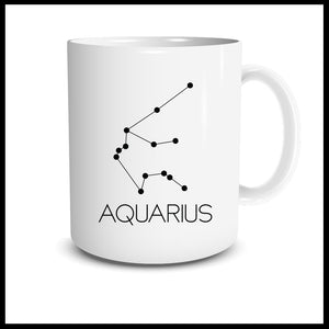 Aquarius Constellation Mug
