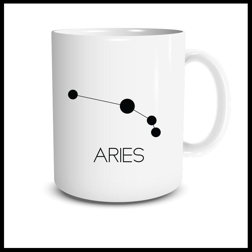 Aries Constellation Mug