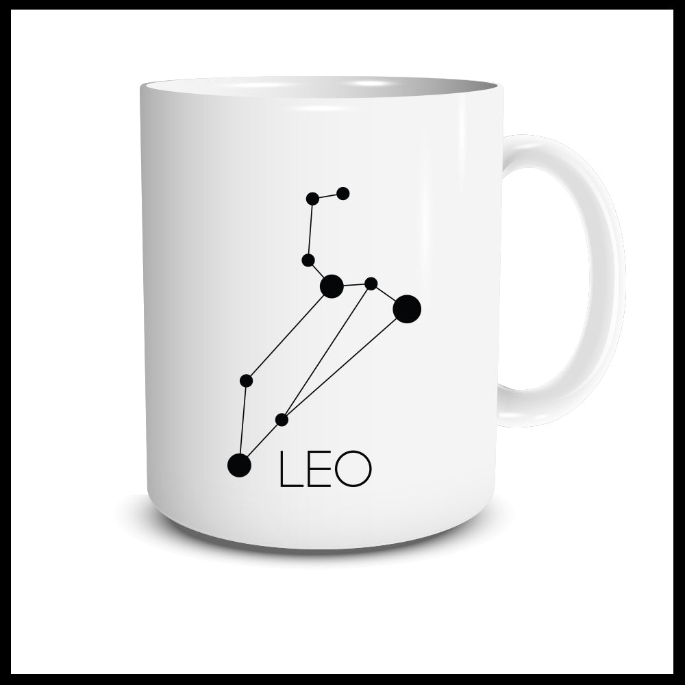Leo Constellation Mug