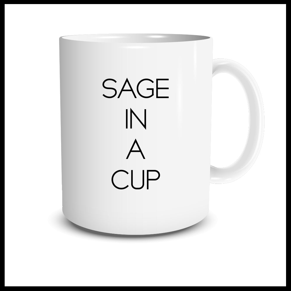 Sage in a Cup Mug
