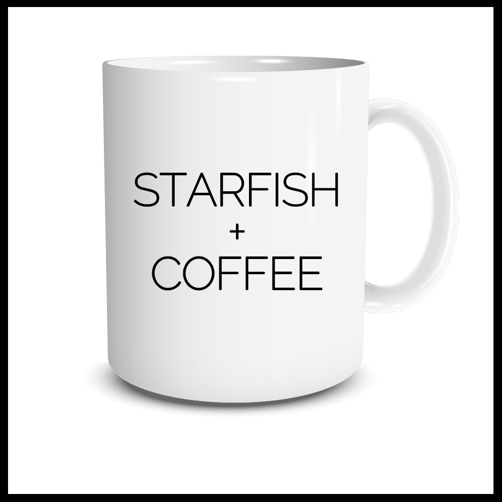 Starfish + Coffee Mug