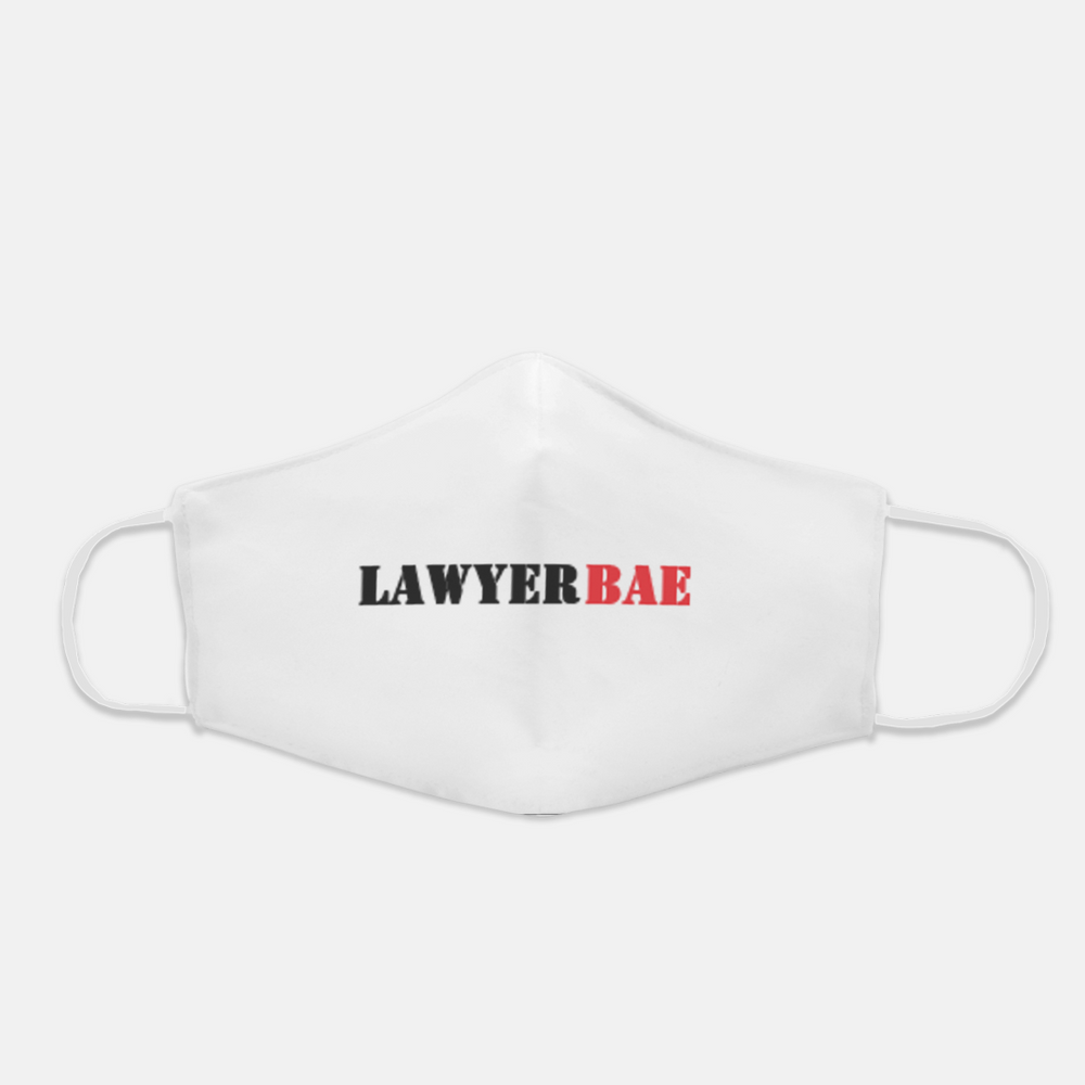 Lawyer Bae Mask (No Logo Red)