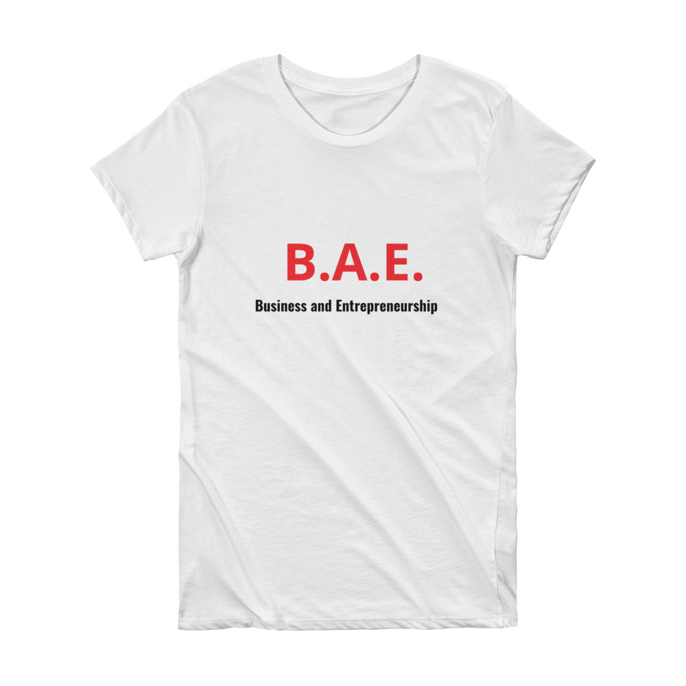 Business Entrepreneurship Female Tee