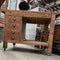 4 Drawer Solid Wood Work Bench