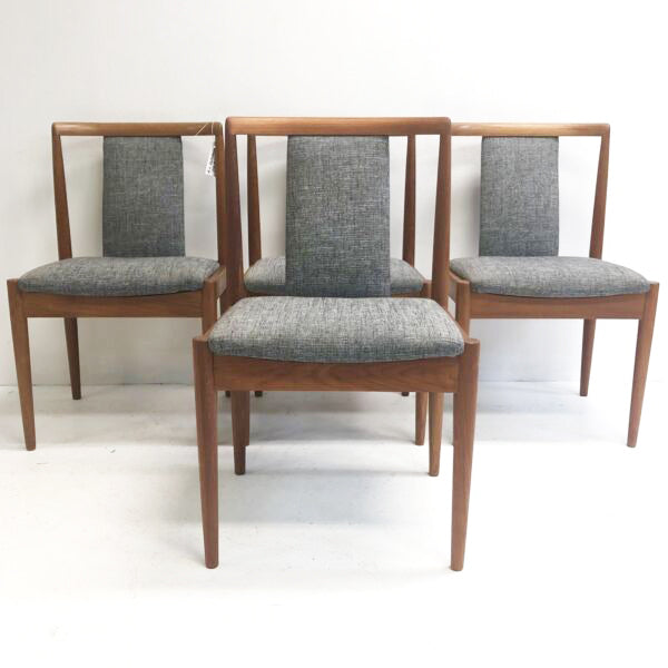 4 x Parker T-back Mid Century Modern Dining Chairs