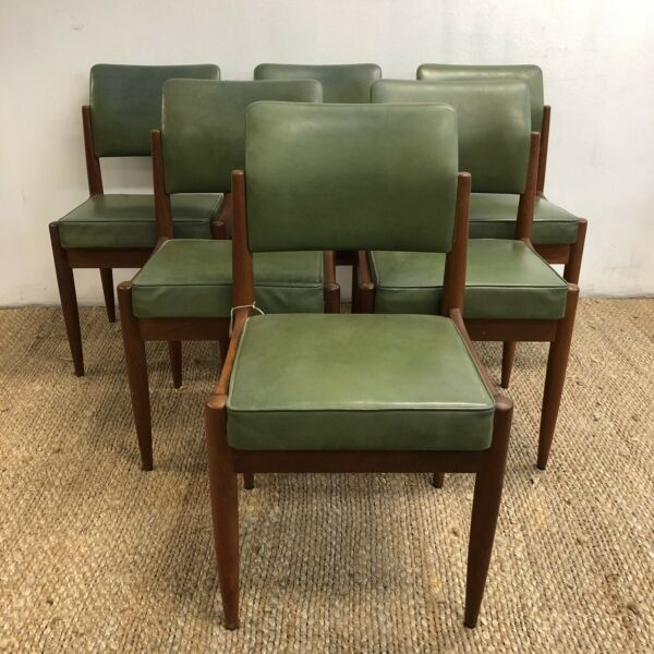 Set 6 1960's Chiswell Dining Chairs