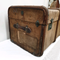 Antique Canvas Covered Trunk