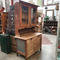 Antique rustic pine kitchen dresser