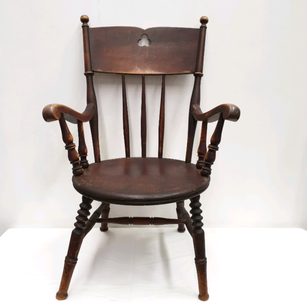 Antique Turned Walnut Chair