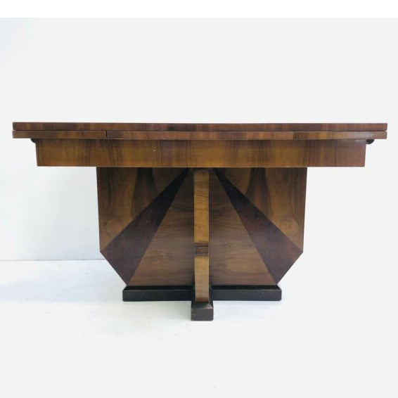 Art Deco Extension Dinning Table Circa 1930s
