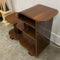 Fabulous Rare Art Deco Veneer 3 Tier Side Table Shelves
