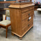 Vintage Baltic Pine Chest of Drawers w/Key