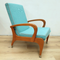 1960's Coachwood Recliner Mid Century Reclining Armchair