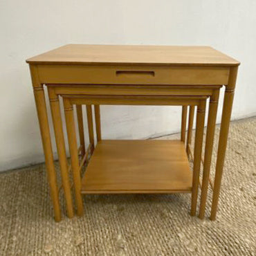 Danish Mid Century Modern Nest Of Tables