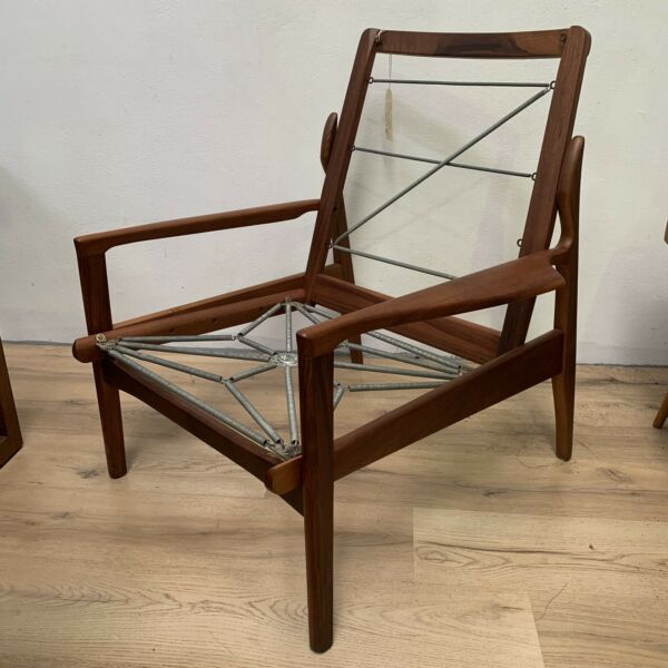 Mid Century Fler Narvik Lounge Chair - Restored