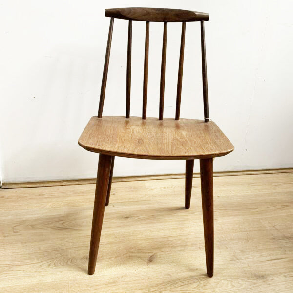 Folke Palsson for FDB Mobler, Spindle Back Danish Chair