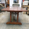 French refractory style oak dinning table