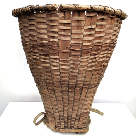 Vintage Tea Picker Basket