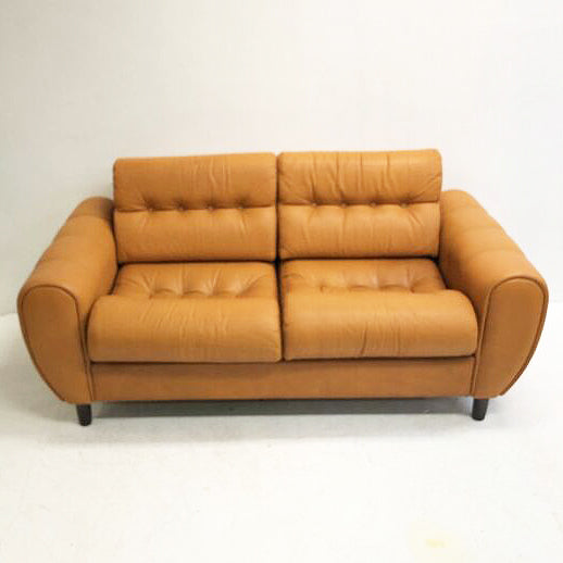 Full Leather Danish Sofa