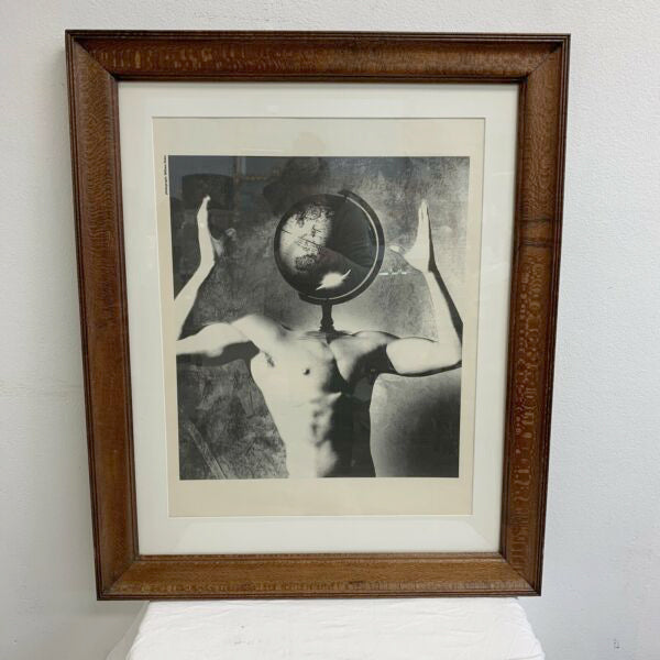 'Globe Head' Framed William Duke Photographic Print