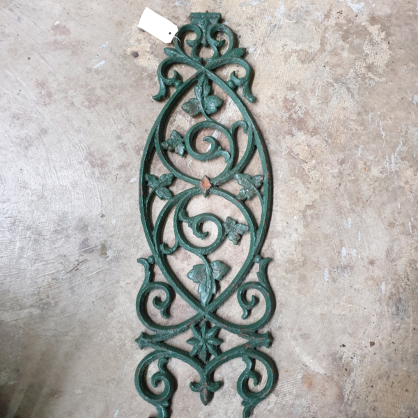 10 antique Cast Iron Panel