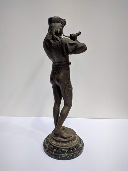 Antique French Spelter Figure The Design Ark