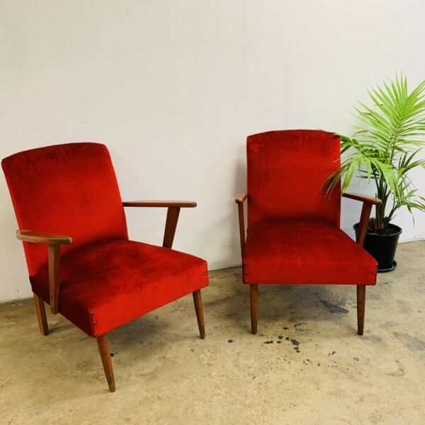 Late 50's Early 60's Armchairs