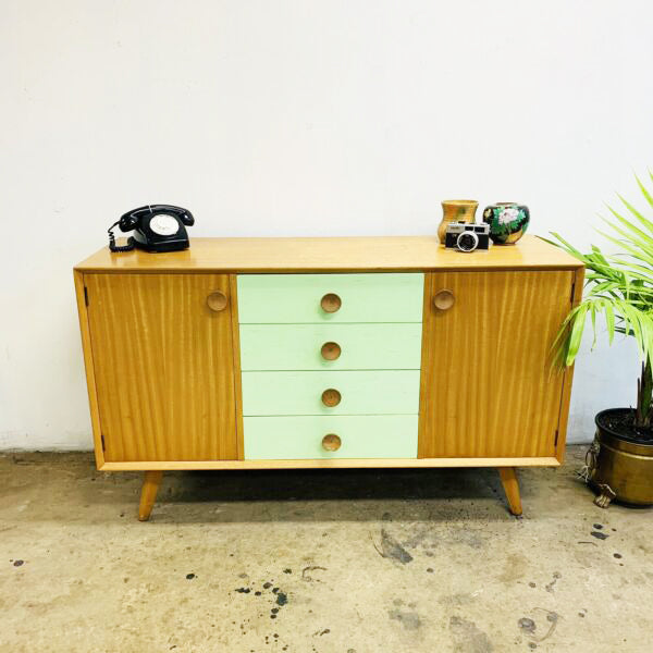 Mid Century 1950's Parker Sideboard Buffet