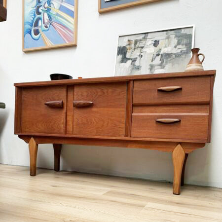 Stunning compact Mid Century Sideboard Buffet