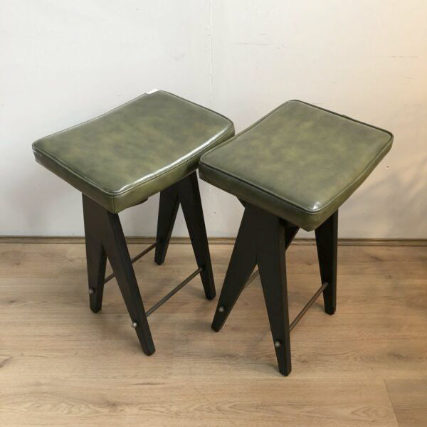 Mid Century 'Apollo' Bar Stools
