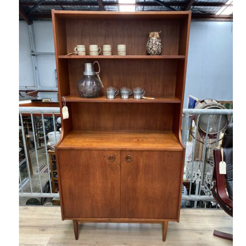 Mid Century Parker Upright Buffet Cabinet