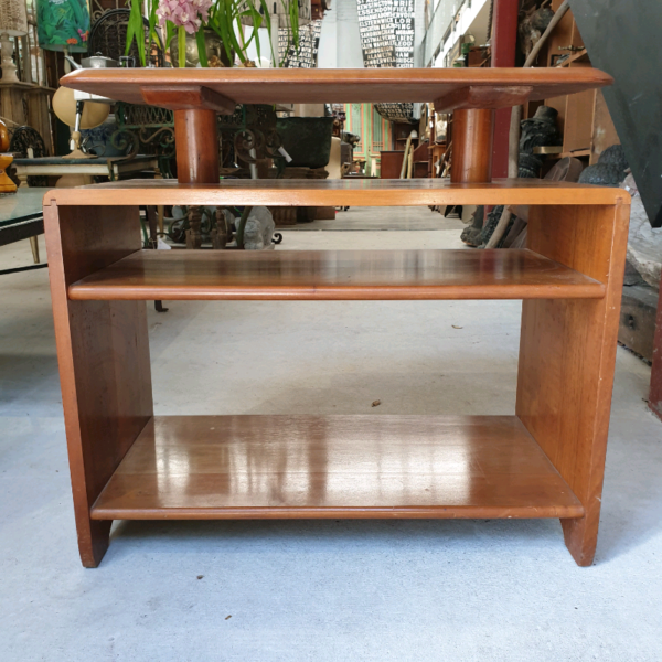 Modernist Myrtel Side Table Attributed to Fred Ward