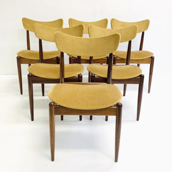 Original Parker 1960's Matchstick Dining Chairs