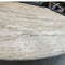 Oval Travertine Dining Table