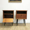 Pair Of Mid Century Bedside Tables c1960