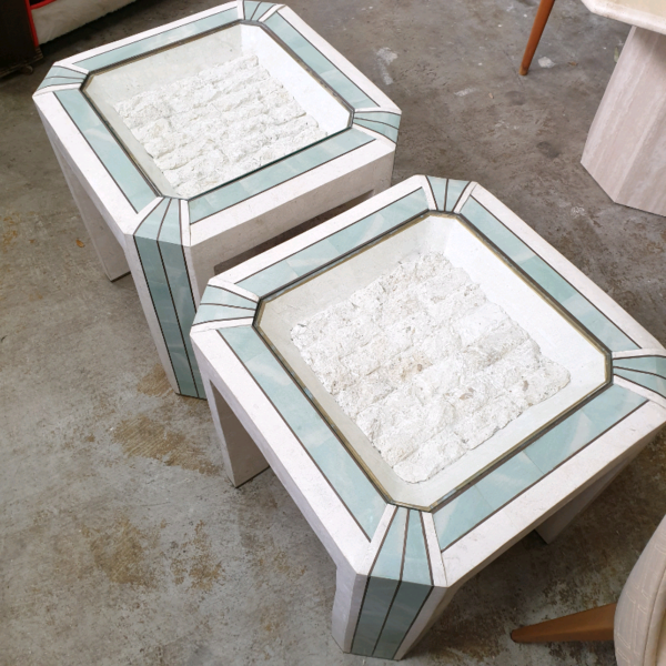 Pair of Italian Side Tables