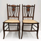 Pair of side/parlour chairs